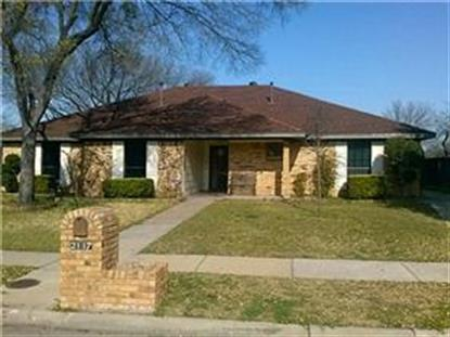2117 Tampico Drive  Carrollton, TX MLS# 13039964