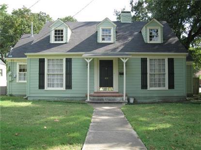 1613 Woodlawn Avenue  Corsicana, TX MLS# 13041823