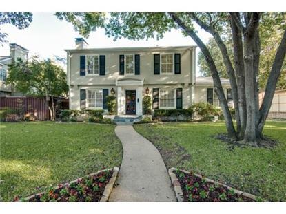 4678 Edmondson Avenue  Highland Park, TX MLS# 13046545