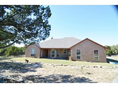 1047 Quail Ridge Court  Glen Rose, TX MLS# 13052036