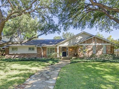 7141 Stefani Drive  Dallas, TX MLS# 13056963