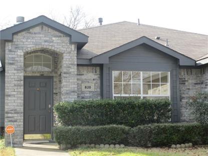820 Dixon Lane  Denton, TX MLS# 13064620
