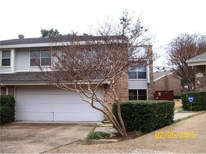 2922 Woodcroft Circle  Carrollton, TX MLS# 13092587