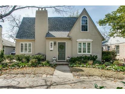 4529 Mockingbird Lane  Highland Park, TX MLS# 13096200