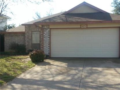 8612 Pedernales Trail  Fort Worth, TX MLS# 13100117