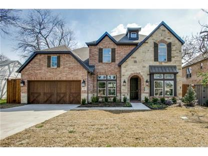 4008 N Cresthaven Road  Dallas, TX MLS# 13108130