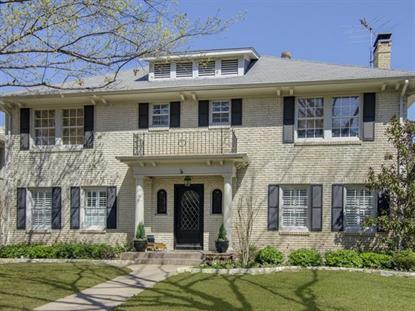 4408 Fairfax Avenue  Highland Park, TX MLS# 13117713