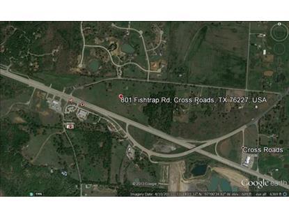 801 Fishtrap Road  Cross Roads, TX MLS# 13121322