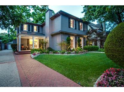 4556 Belclaire Avenue  Highland Park, TX MLS# 13152669