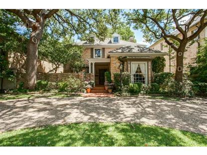 3709 Normandy Avenue  Highland Park, TX MLS# 13171711