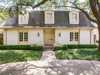 4309 Livingston Avenue  Highland Park, TX MLS# 13205604