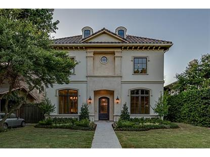 3502 Lindenwood Avenue  Highland Park, TX MLS# 13211825