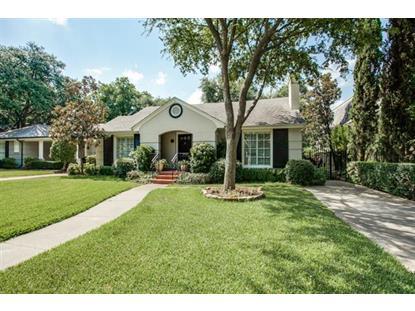 4661 N Versailles Avenue  Highland Park, TX MLS# 13214496