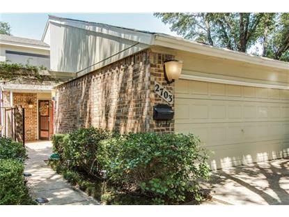 2703 Creek Wood Court  Carrollton, TX MLS# 13220356