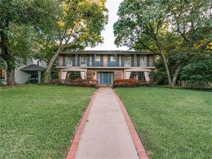 4445 Rheims Place  Highland Park, TX MLS# 13264627