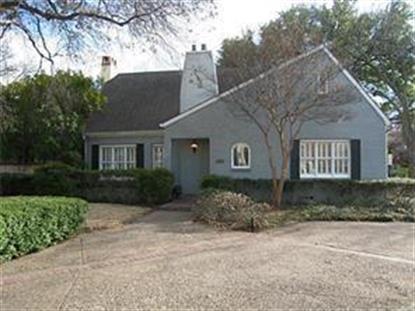 3541 Potomac Avenue  Highland Park, TX MLS# 13286786