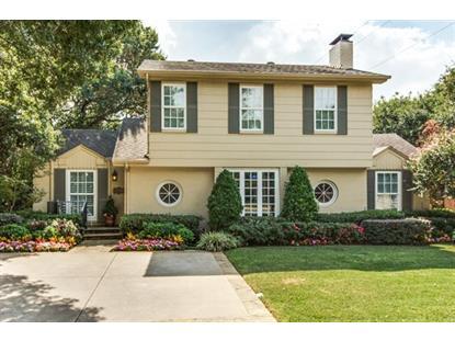 4581 Bordeaux Avenue  Highland Park, TX MLS# 13309967