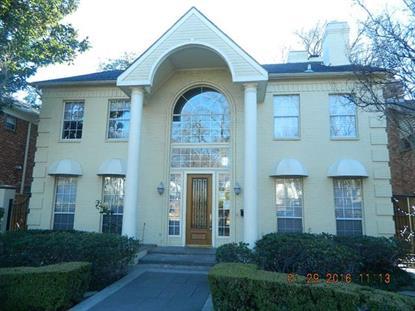 5012 Abbott Avenue  Highland Park, TX MLS# 13311247