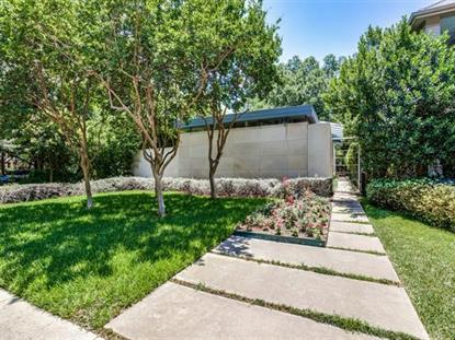 5020 Abbott Avenue  Highland Park, TX MLS# 13325135