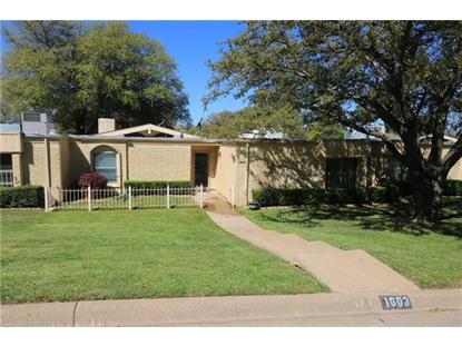 1603 Cindy Court  Arlington, TX MLS# 13344991
