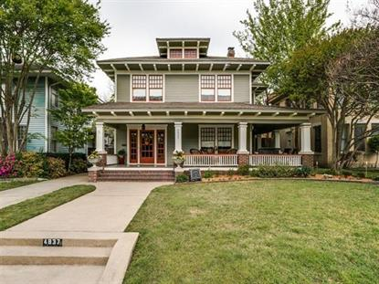 4837 Tremont Street  Dallas, TX MLS# 13349181