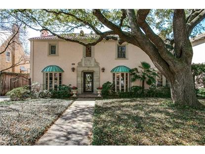 4409 Beverly Drive  Highland Park, TX MLS# 13352789
