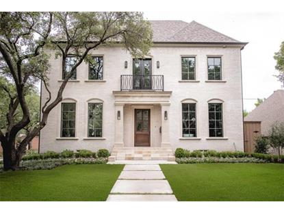 4572 Arcady Avenue  Highland Park, TX MLS# 13374911