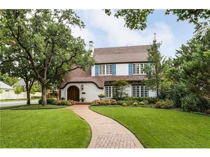 3220 Beverly Drive  Highland Park, TX MLS# 13432431