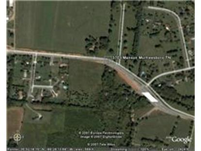 3729 Manson Pike Murfreesboro, TN MLS# 1576212