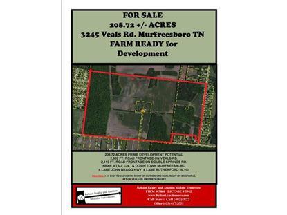 3245 Veals Rd Murfreesboro, TN MLS# 1605413