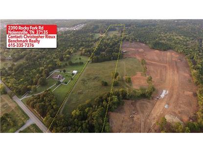 2390 Rocky Fork Rd Nolensville, TN MLS# 1673362
