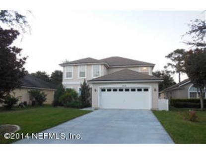 1332 RIVER CITY ST Saint Augustine, FL MLS# 746647