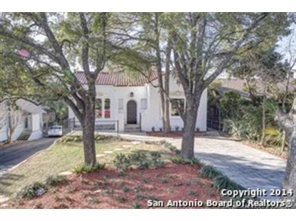 228 ARGYLE AVE  San Antonio, TX MLS# 1041114