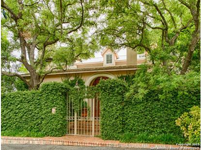 105 CANTERBURY HILL ST  San Antonio, TX MLS# 1063037