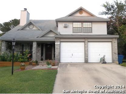 7826 BENT BRANCH  San Antonio, TX MLS# 1069693