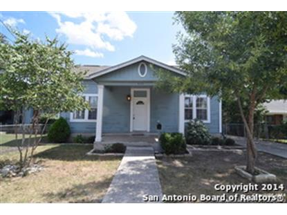832 TEXAS AVE  San Antonio, TX MLS# 1074230