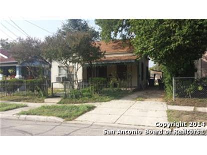 1013 E CROCKETT ST  San Antonio, TX MLS# 1083782