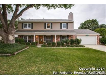 5838 OAK RUN ST  San Antonio, TX MLS# 1087845