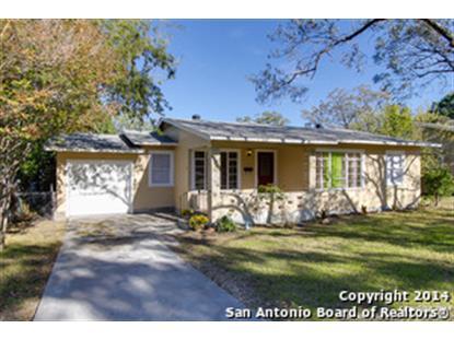 110 EASTHILL DR  San Antonio, TX MLS# 1088958