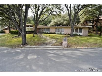 411 EDGEVALE DR  San Antonio, TX MLS# 1094879