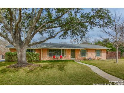 107 RANCHLAND DR  Castle Hills, TX MLS# 1097153
