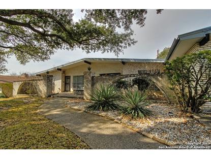 132 SHALIMAR DR  Castle Hills, TX MLS# 1099350
