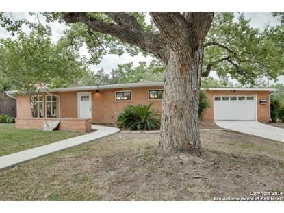 800 MORNINGSIDE DR  Terrell Hills, TX MLS# 1105613
