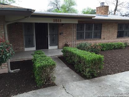 1511 SAINT CLOUD RD  San Antonio, TX MLS# 1107870