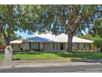 603 SQUIRES ROW  Castle Hills, TX MLS# 1140243