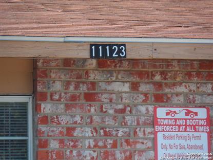 11123 Belair Dr  San Antonio, TX MLS# 1140581