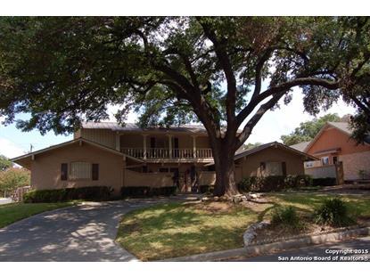 2203 BRIARWOOD DR  San Antonio, TX MLS# 1145601
