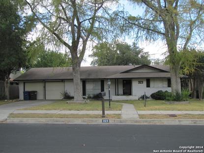323 FANTASIA ST  San Antonio, TX MLS# 1159548