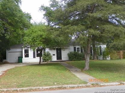 210 GREENWICH BLVD  San Antonio, TX MLS# 1173223