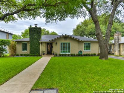 116 W Oakview Pl  San Antonio, TX MLS# 1175700